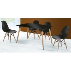 Conjunto mesa + 4 sillas Dinamarca