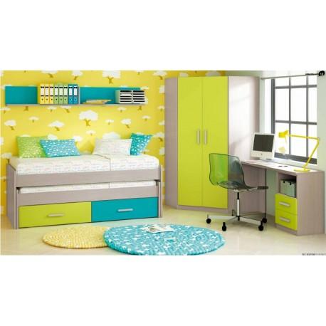 Dormitorio Río 404
