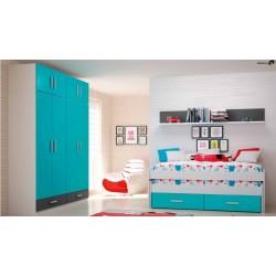 Dormitorio Río 412
