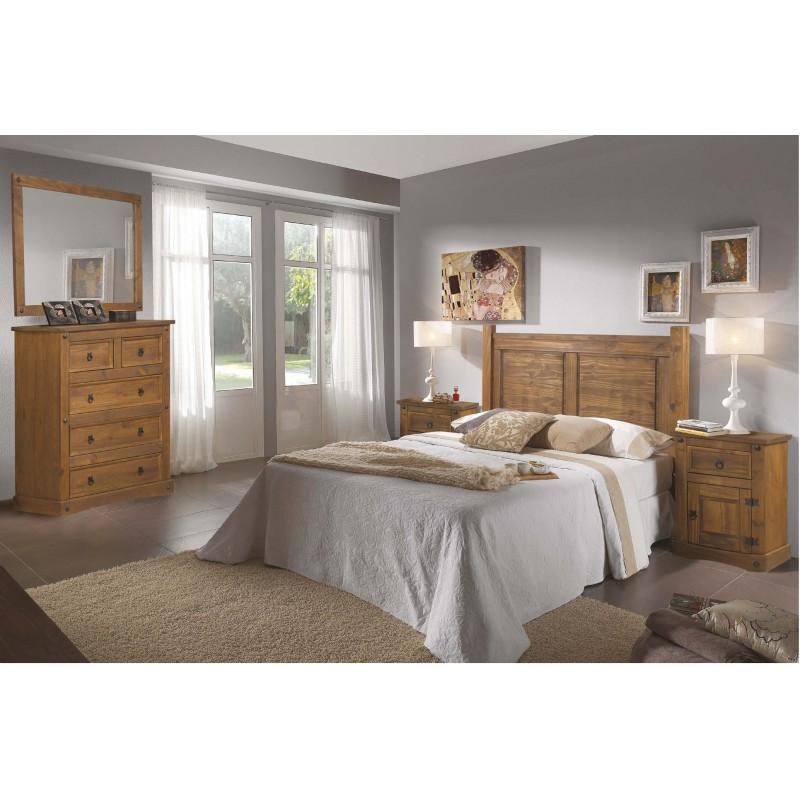 Dormitorios De Matrimonio Estilo Rustico : Dormitorios de estilo rústico modelo nebraska di factory muebles