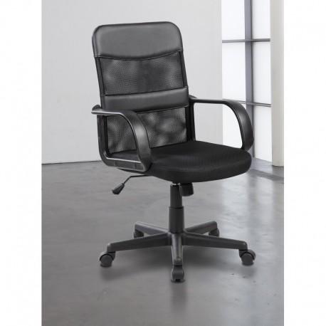 Silla de oficina al mejor precio | SOF-08 color negro