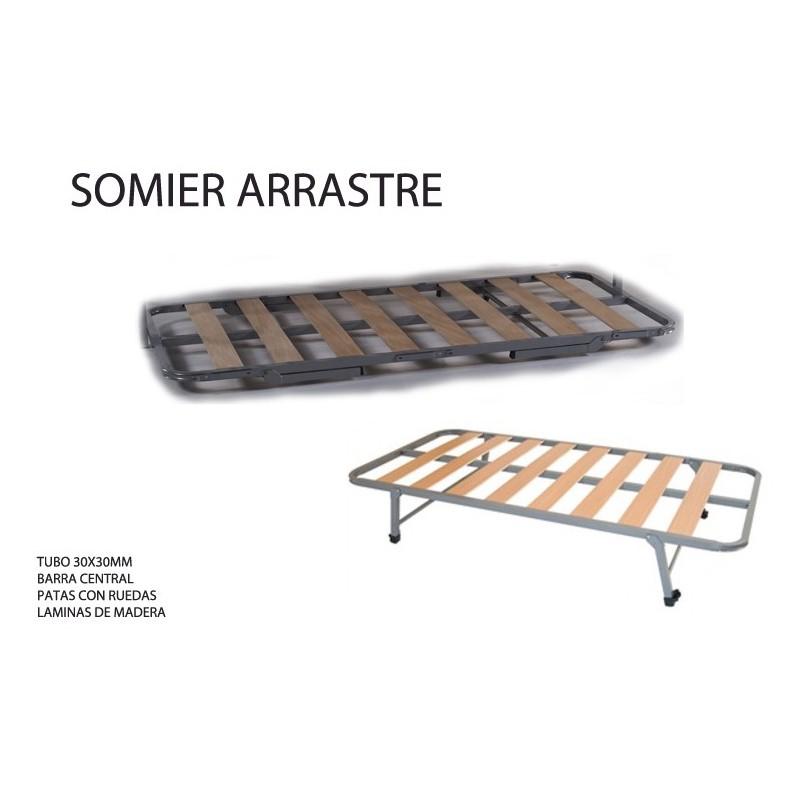Somier Con Ruedas.Somier De Arrastre En Colchoneria Di Factory